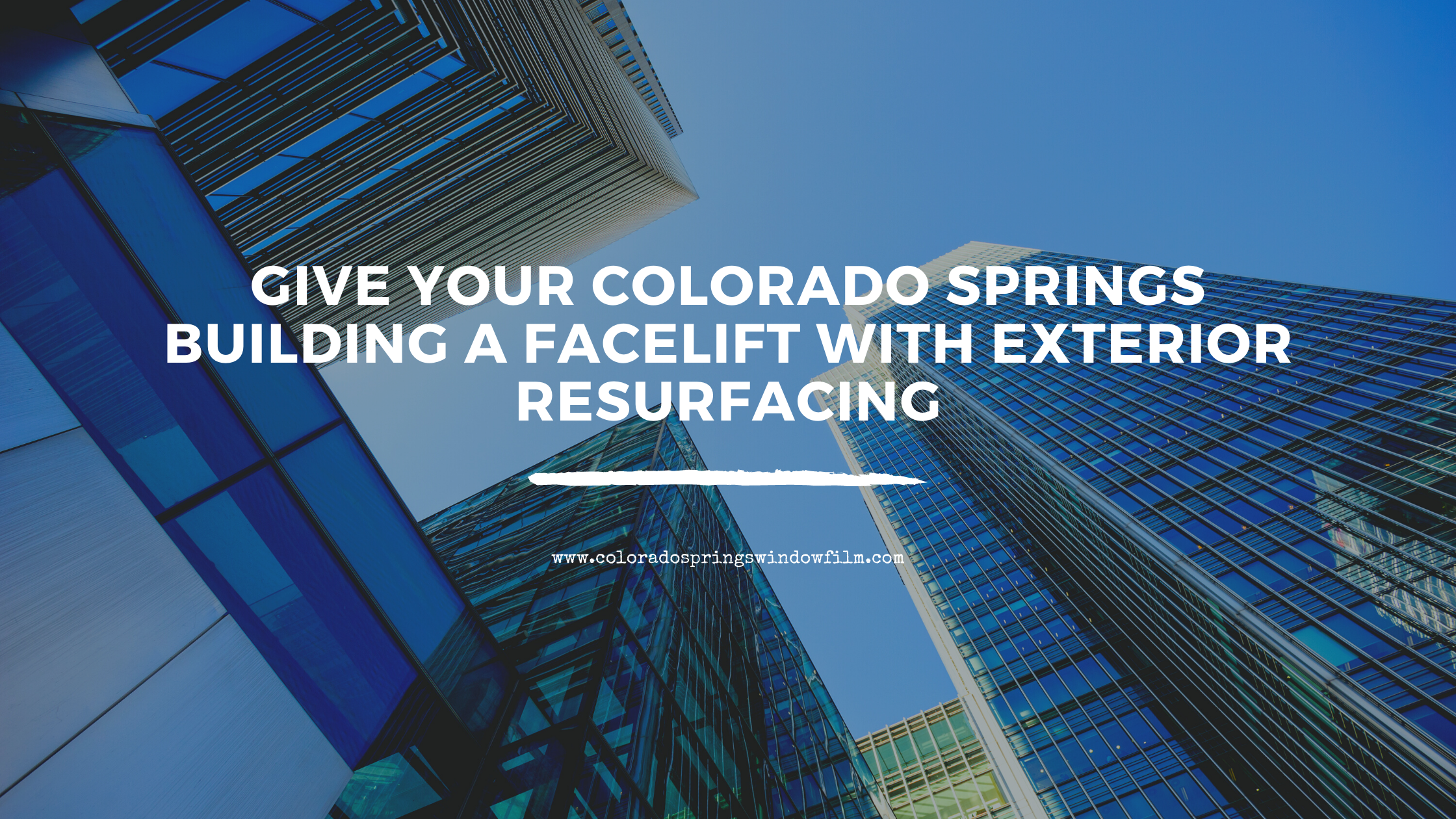 Give Your Colorado Springs Building a Facelift with Exterior Resurfacing
