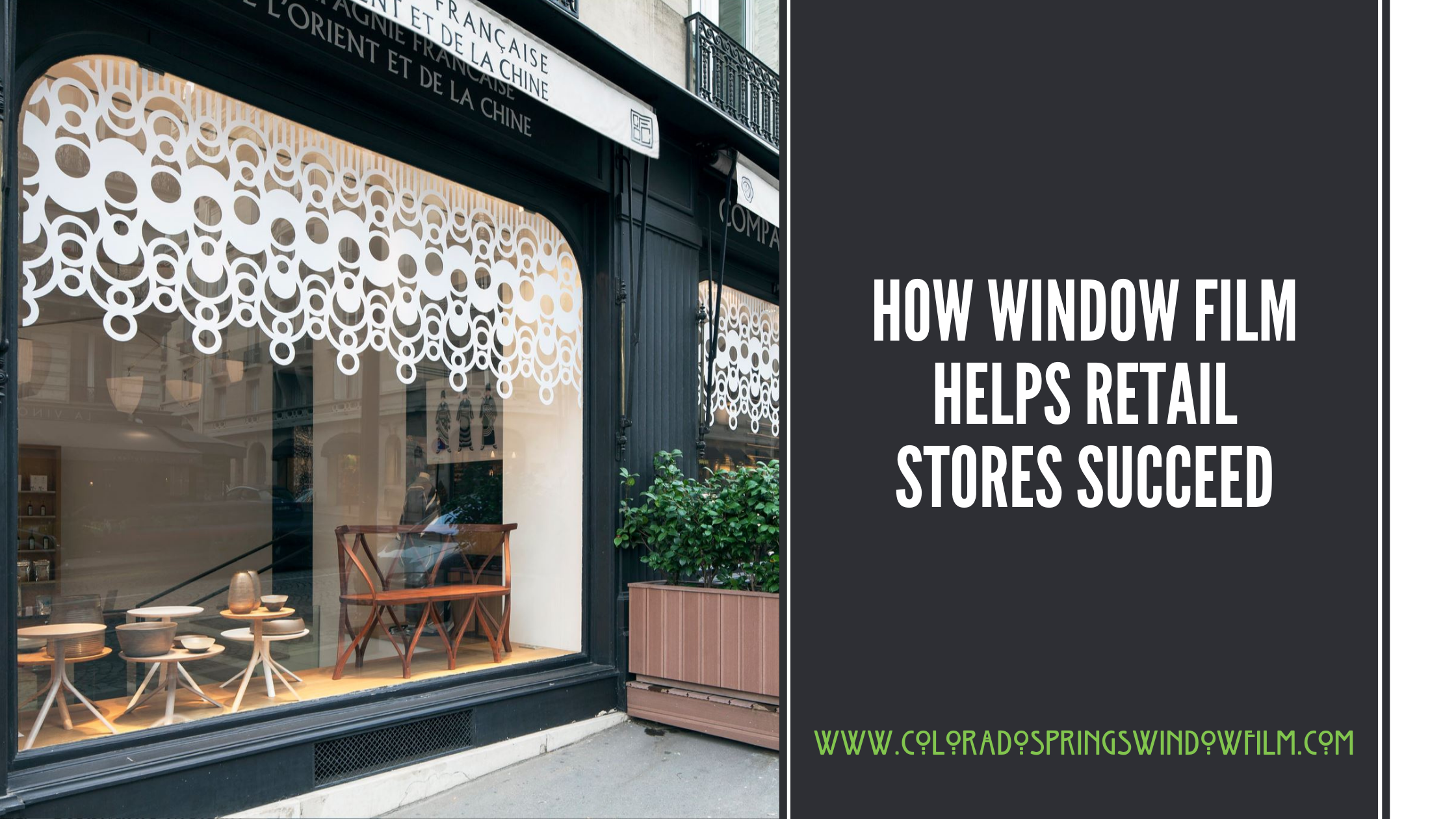 How Window Film Helps Retail Stores Succeed