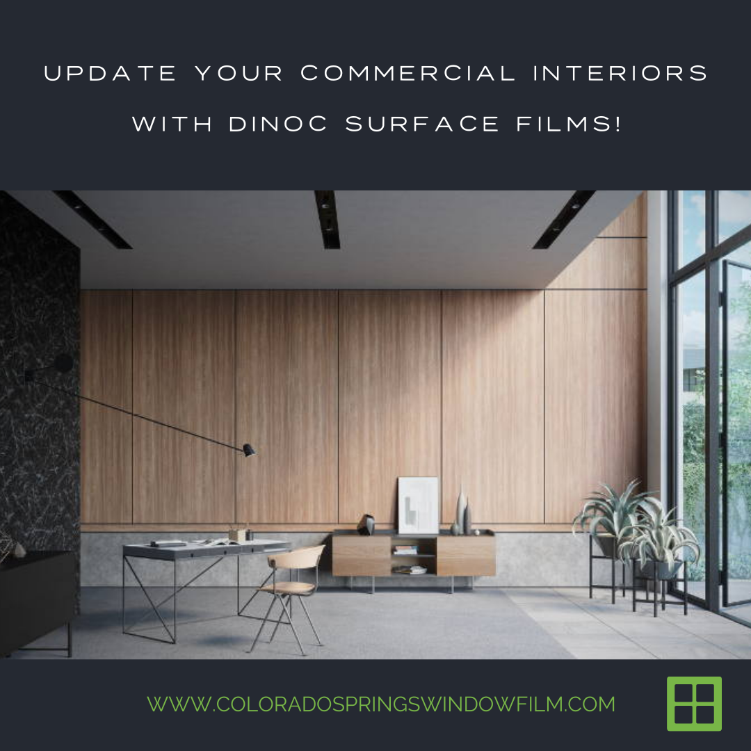 Update Your Commercial Interiors with 3M DiNoc Surface Films!